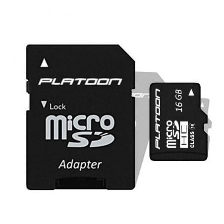 Micro SD 16GB Class 10 Platoon