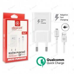Punjač kućni Micro USB 2u1...